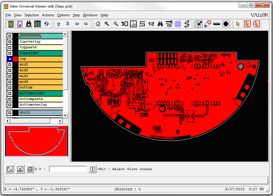 Altium PCB Designer: ODB++ Valor's Universal Viewer (Free)