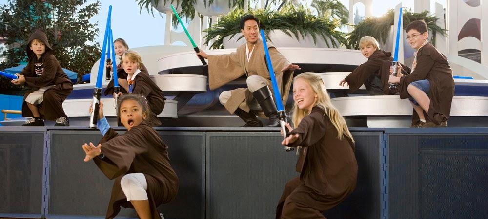 Trainamento Jedi do Star Wars na Disney em Orlando