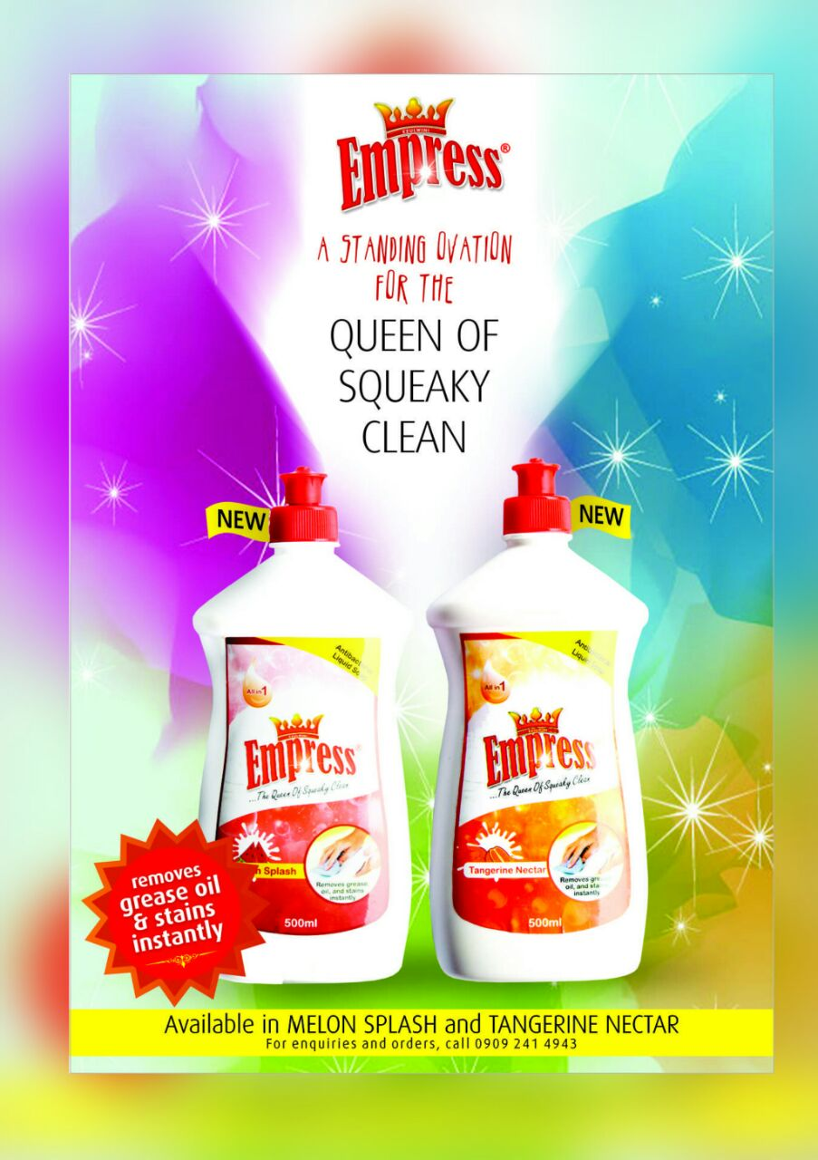 EMPRESS DISH WASHING LIQUID SOAP
