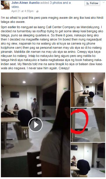 From Selfie To Creepy: A Headless Man Was Caught On Camera While He Was Taking A Selfie!