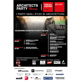 Architects Party dal 19 al 22 giugno Milano
