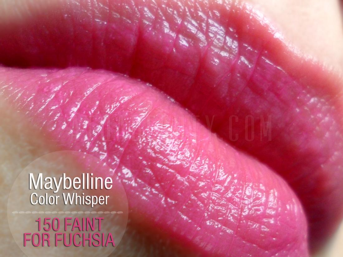 Maybelline Color Whisper 150 Faint For Fuchsia