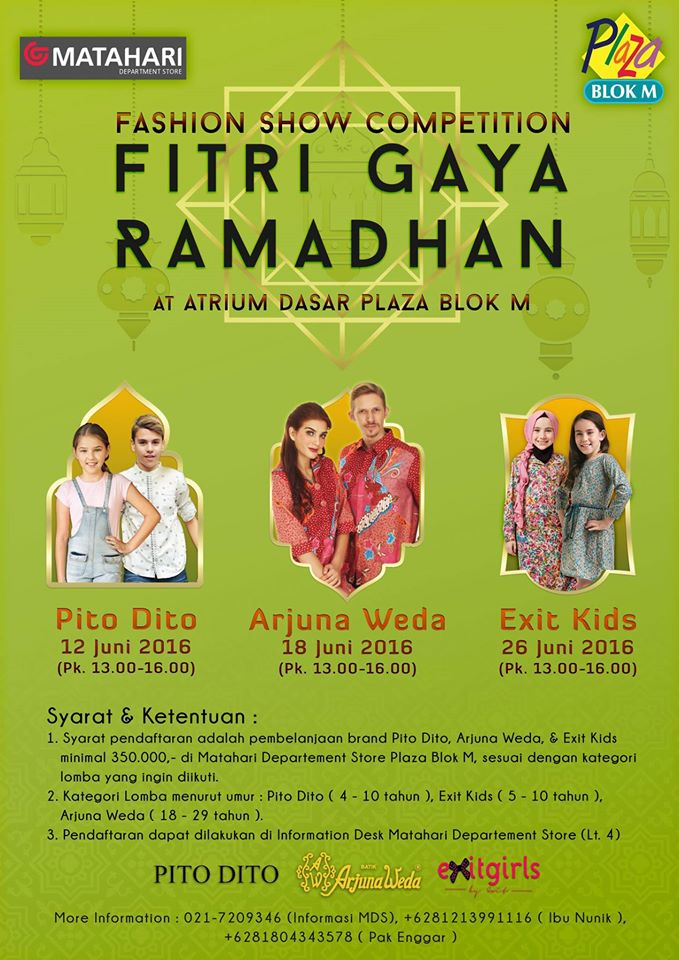 Fashion Show Competition – Fitri Gaya Ramadhan