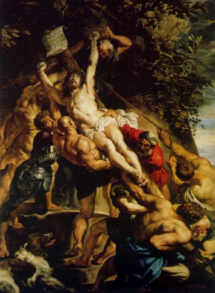 Rubens: Elevation of the Cross