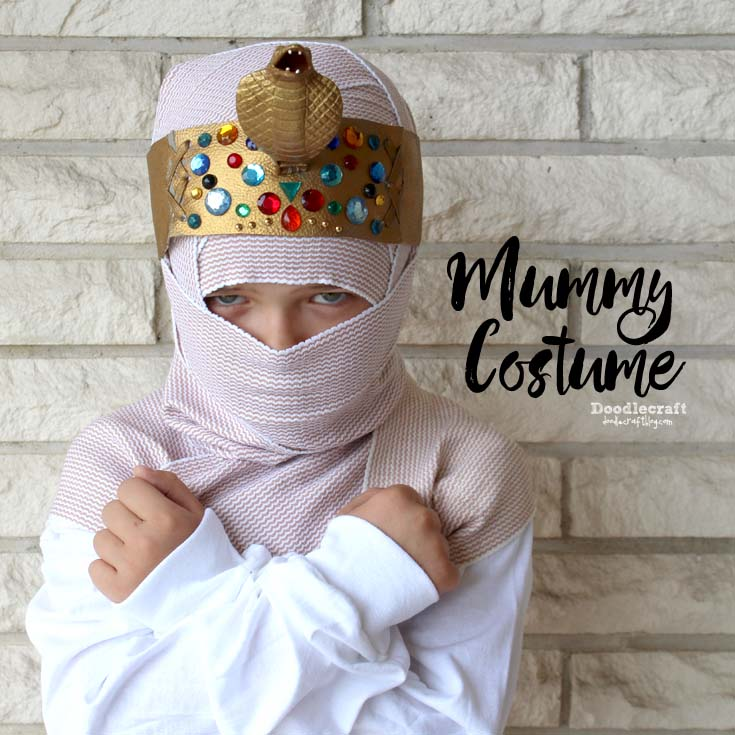 Egyptian King Mummy Costume