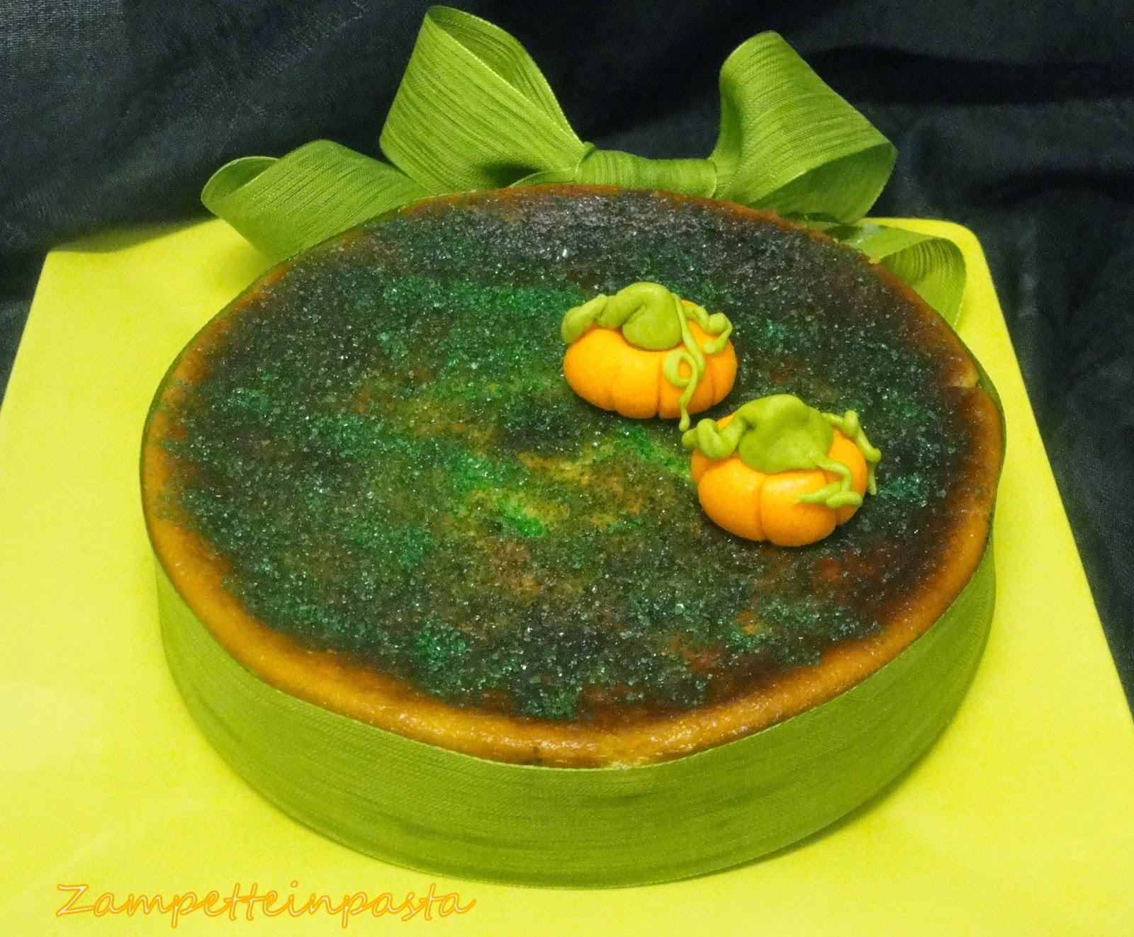 Cheesecake alla zucca - Ricetta per Halloween