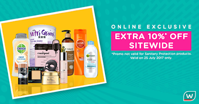 Watsons Malaysia Online Store 10% Discount Storewide
