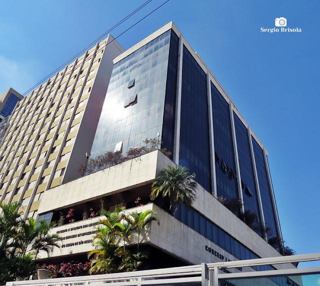 Vista ampla do Edifício da CORCESP - Bela Vista - São Paulo