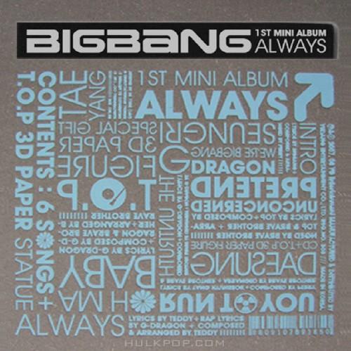 BIGBANG – Always (1st Mini Album) (FLAC + ITUNES PLUS AAC M4A)
