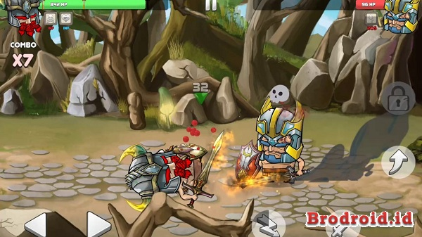 Download Tiny Gladiators v1.3.7 Mod Apk Update terbaru