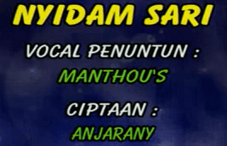 Lirik Lagu Nyidam Sari
