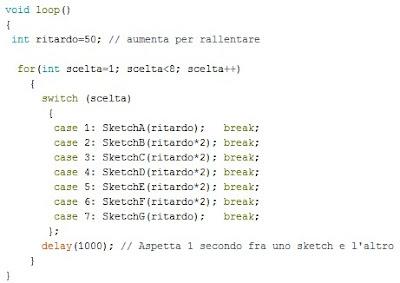 Fig.2 - Nuovo modulo main() per gli skecth di Paolo Luongo