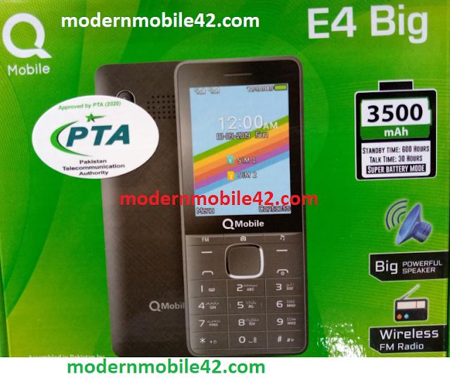 qmobile e4 big flash file cm2