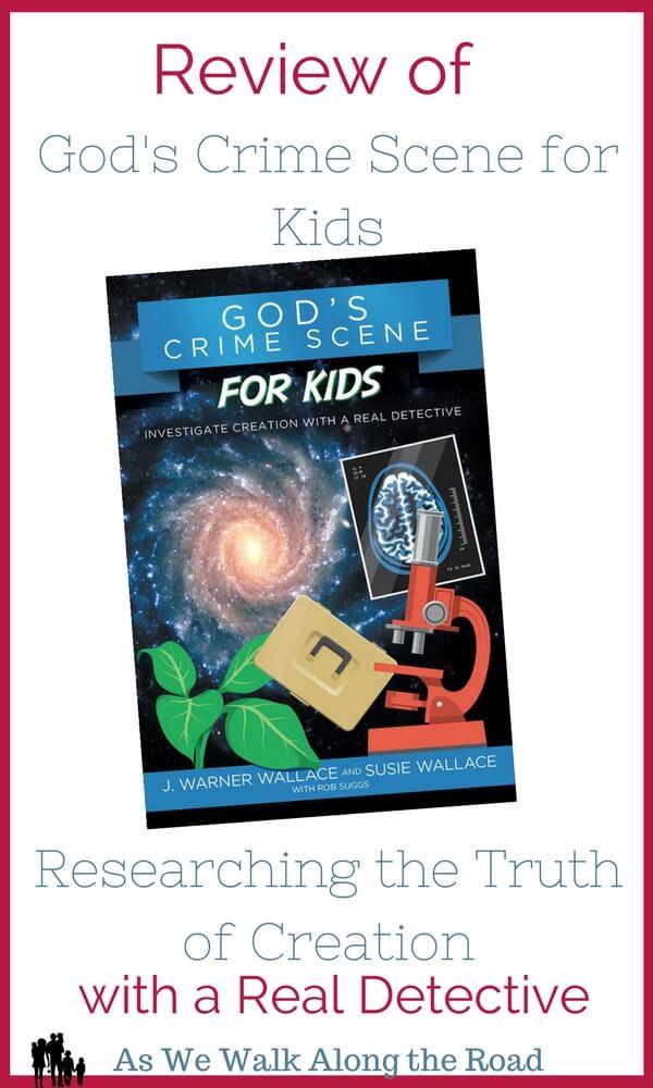 Review of God's Crime Scene for Kids