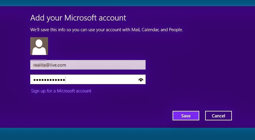 how to open gmail in windows 8