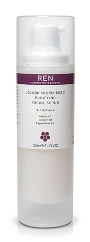 facial purifying scrub Jojoba bead micro