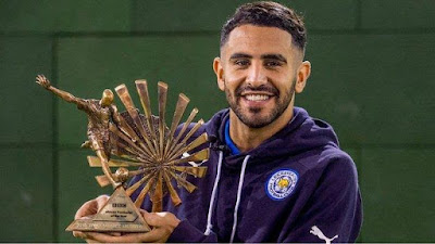 Riyad Mahrez is crowned BBC African Footballer of The Year