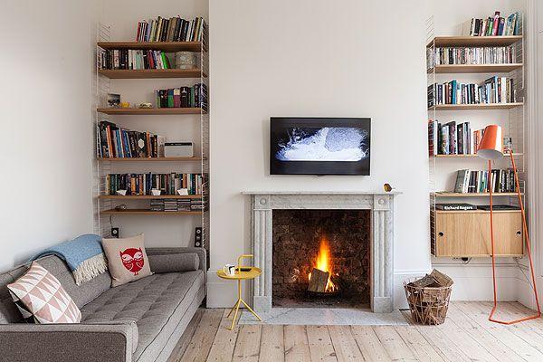 living room wooden floor