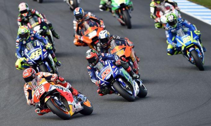 Marquez Menangi MotoGP Australia, Rossi Finis Kedua