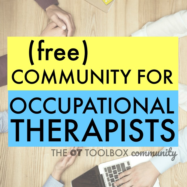 The OT Toolbox Community is a free online resource for occupational therapists to connect, collaborate, network, and share resources to promote and enhance the profession.