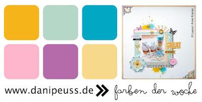 Farben der Woche von www.danipeuss.de