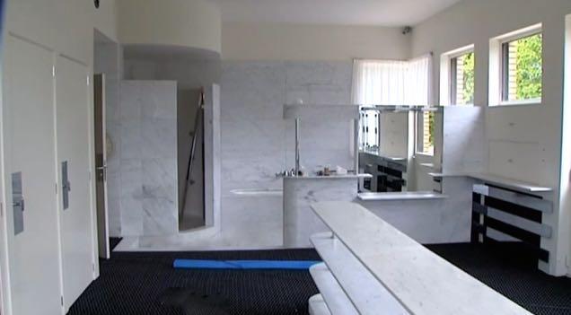 le blog des amis de la villa cavrois la salle de bains. Black Bedroom Furniture Sets. Home Design Ideas