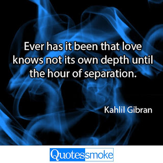 Khalil Gibran Sad Quote