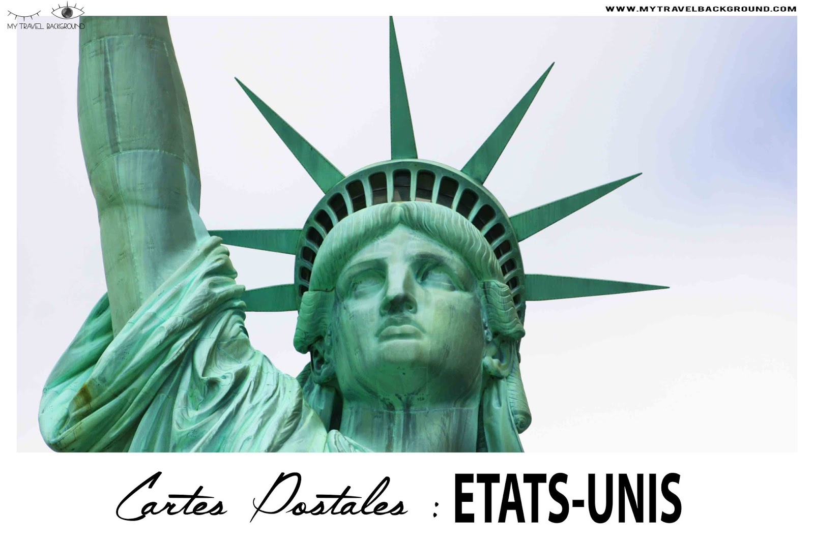 My Travel Background : Cartes Postale Etats-Unis