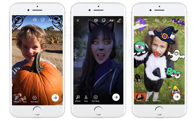 جديد الفيسبوك بمناسبة Halloween تأثيرات ومواضيع ومنشورات ولعبة تفاعلية رائعة