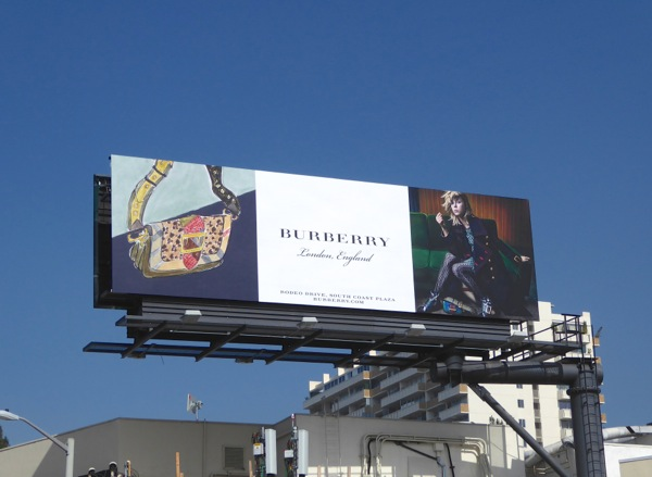 Burberry SS16 handbag billboard