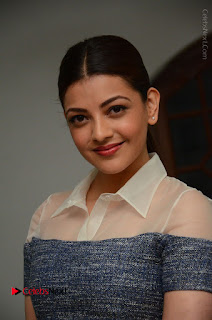 Actress Kajal Agarwal Latest Stills at Khaidi No 150 Movie Interview  0004.JPG