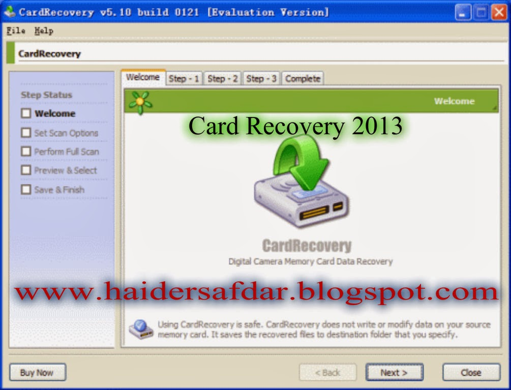download card recovery full version