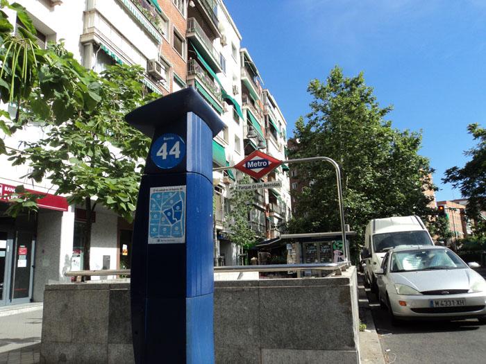 Los parquimetros de Madrid, gratis las tardes de Agosto