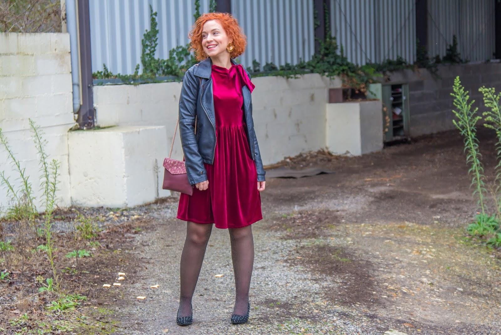 tenue-de-reveillon-robe-velours-perfecto