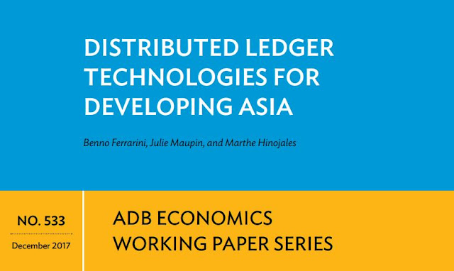 """Distributed Ledger Technologies for Developing Asia 