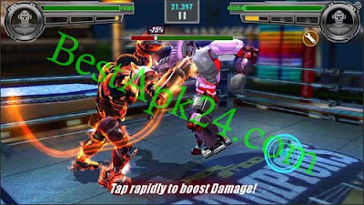 Real Steel Boxing Champions v1.0.432 APK + MOD + OBB 3