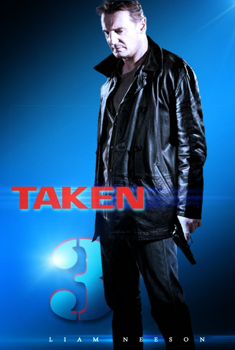 Poster Taken 3 - Fan Made