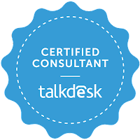 Talkdesk Certified Consultant Badge