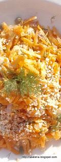 Ανοιξιάτικη σαλάτα καρότου -Spring carrot salad
