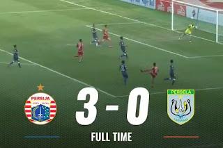 Persija Jakarta vs Persela Lamongan 3 - 0