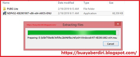 Cara Install .Net Framework 4.5.2 untuk PUBG Lite