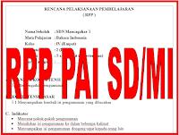 RPP Pendidikan Agama Islam (PAI) untuk SD/MI Kelas I-VI