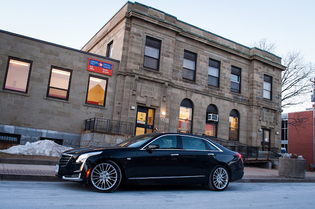 2017 Cadillac CT6 black