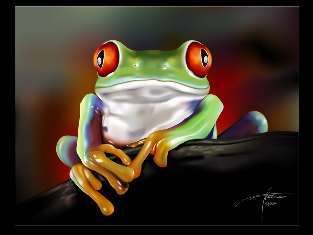 Cute Little Frogs In Photos