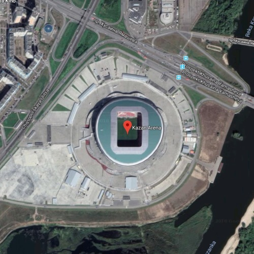 Stadion Kazan Arena, Kazan, Rusia | Piala Dunia FIFA 2018