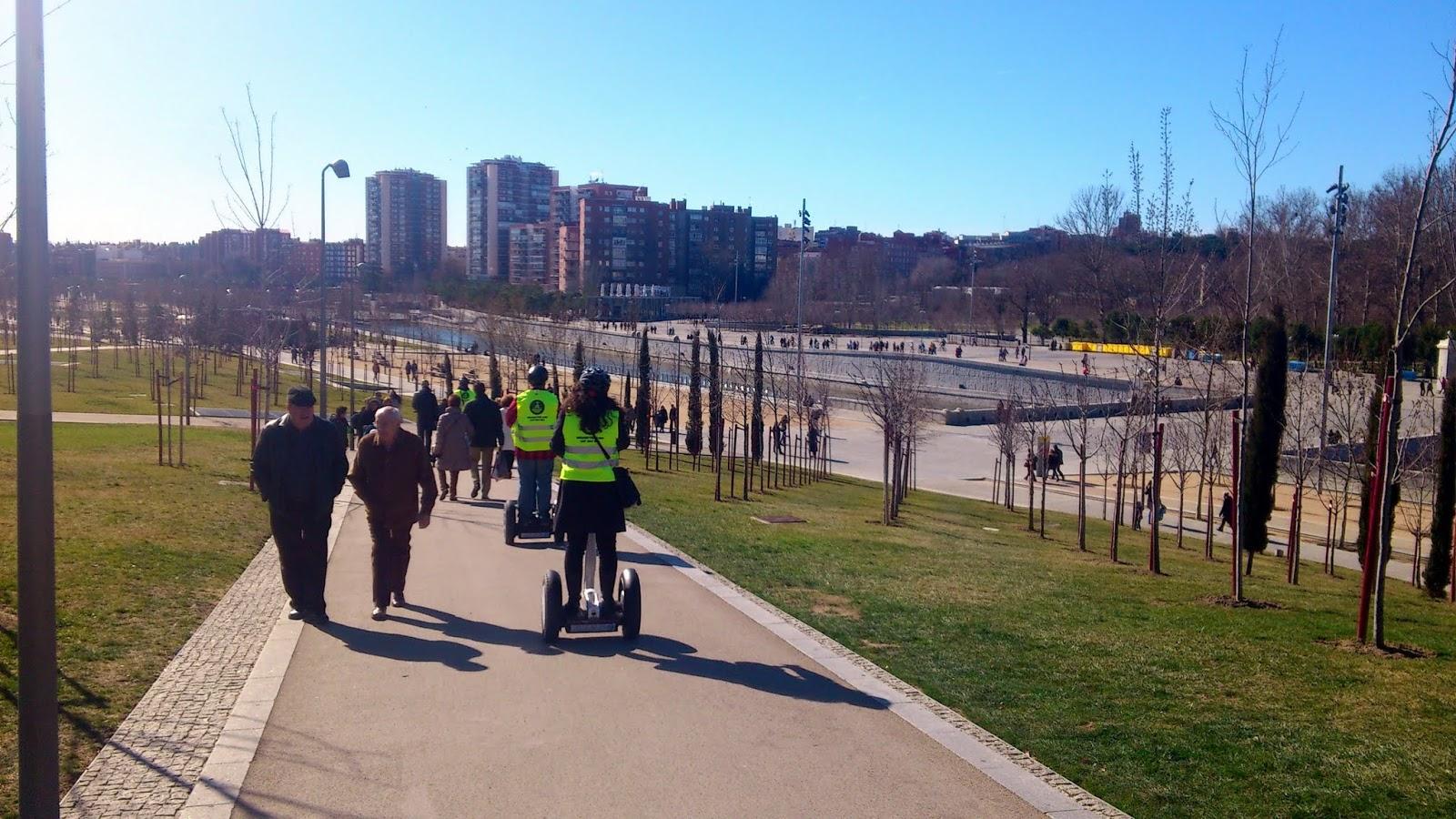 Conociendo Madrid Rio en Segway