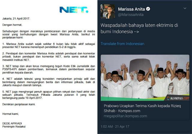NET TV Akhirnya Berikan Klarifikasi Resmi Usai Presenternya Bikin Ulah
