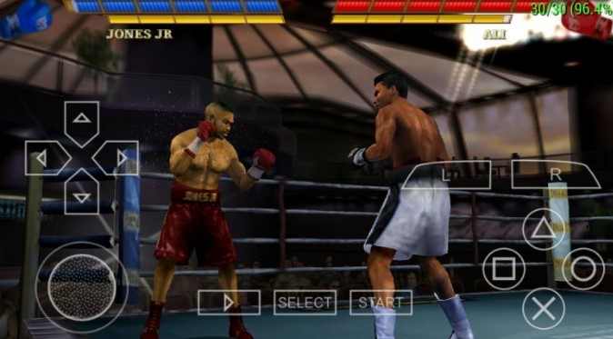 Game Fight Night Round 3 PSP PPSSPP Iso