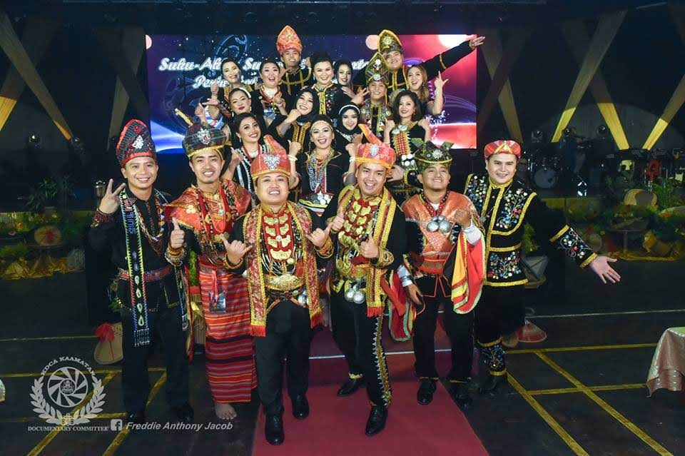 Top 20 peserta Separuh Akhir Sugandoi Kaamatan peringkat negeri Sabah 2018