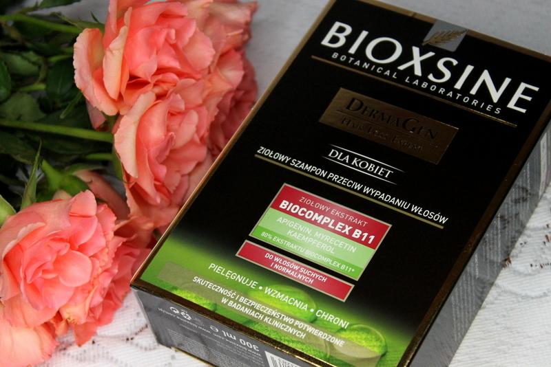 Bioxsine DermaGen ziołowy szampon przeciw wypadaniu włosów